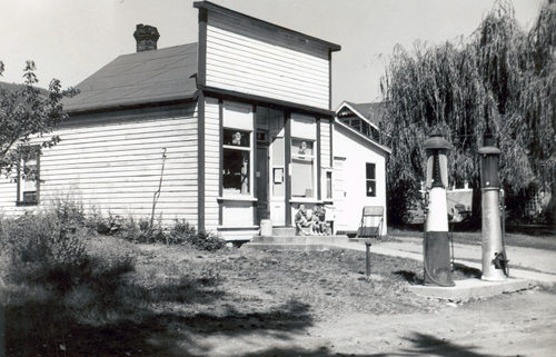 The Renata General Store in the summer of 1965