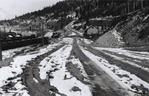 New highway at Sirdar, circa 1930s
