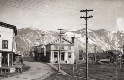 Downtown Creston, 1931